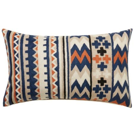 L&M Santiago Chain stitch Cushion