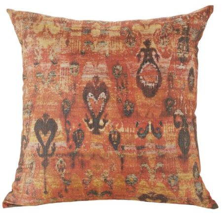Taj Square Tomato Cushion
