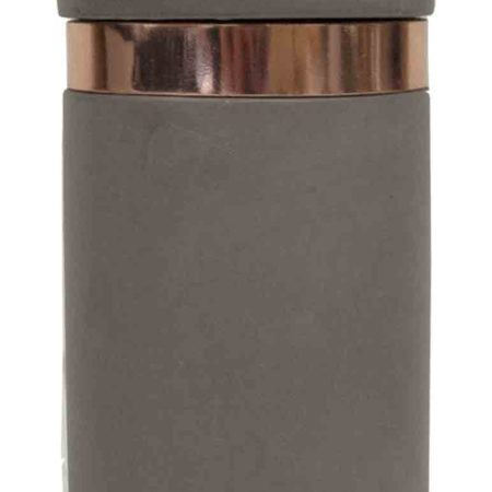 Hand Made Bullet Storage Canister - Charocal