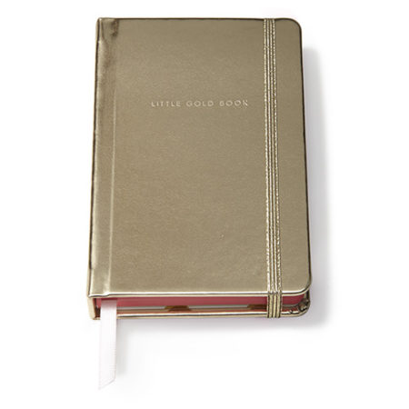 Leatherette Journal in Gold Color