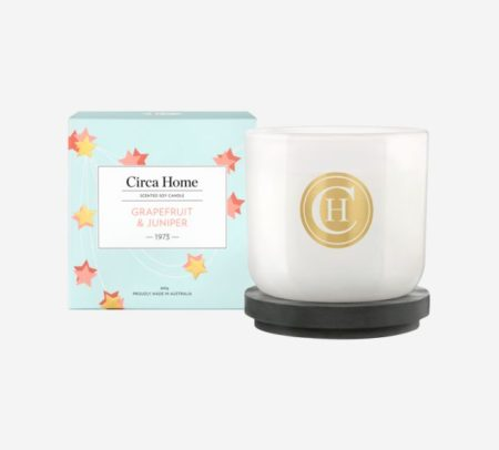 Grapefruit & Juniper Candle