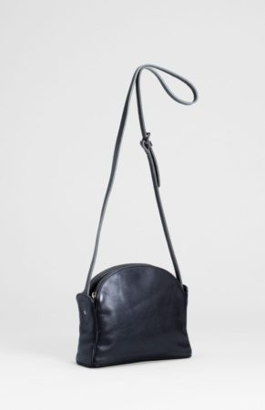Forde Small Leather Bag Black