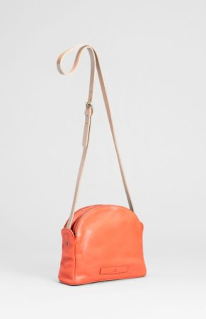 Forde Small Leather Bag Flame