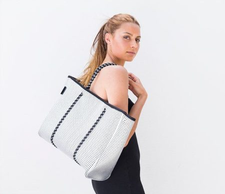The Sterling Bag Metallic Silver