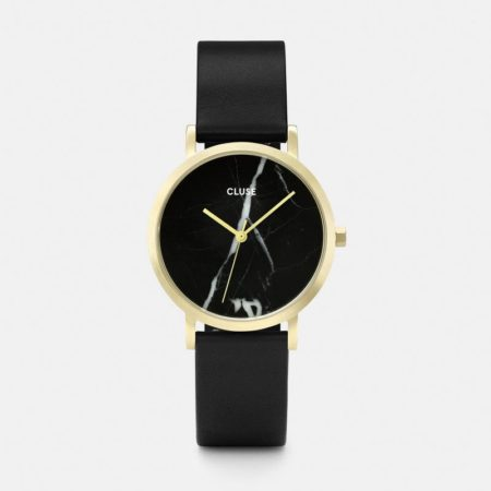 Gold & Marble Watch