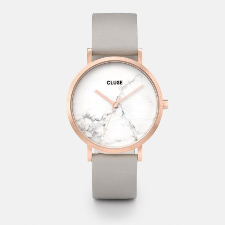 Roche Rose Gold Marble Grey