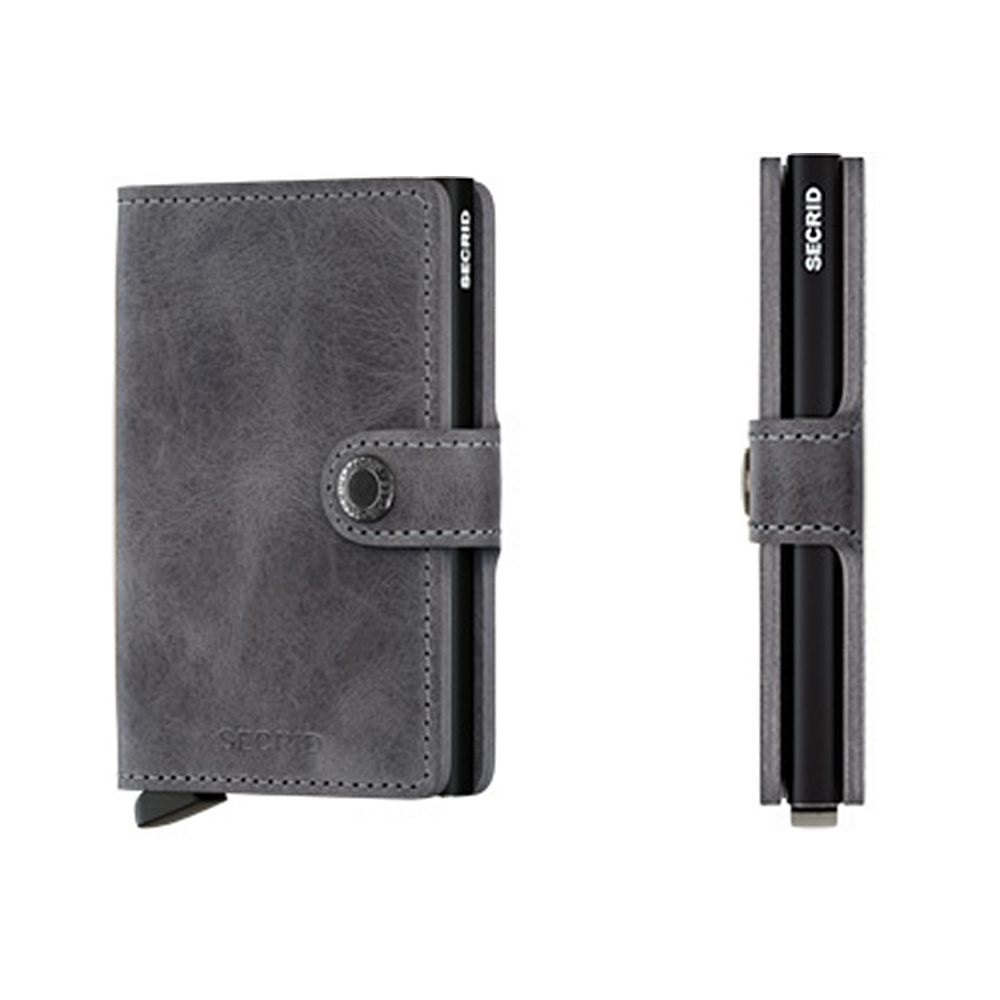 Secrid Miniwallet Grey-Black vintage