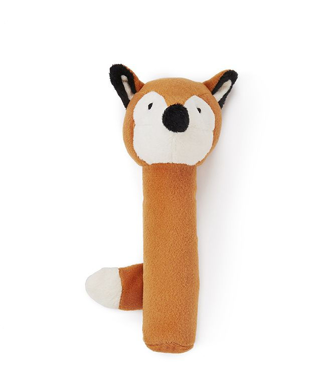 The Fox Baby Rattle