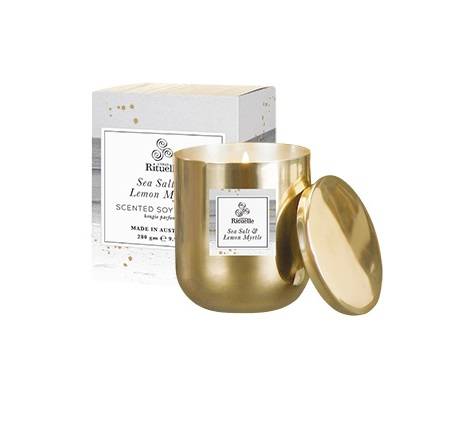 Soy Candle Brass