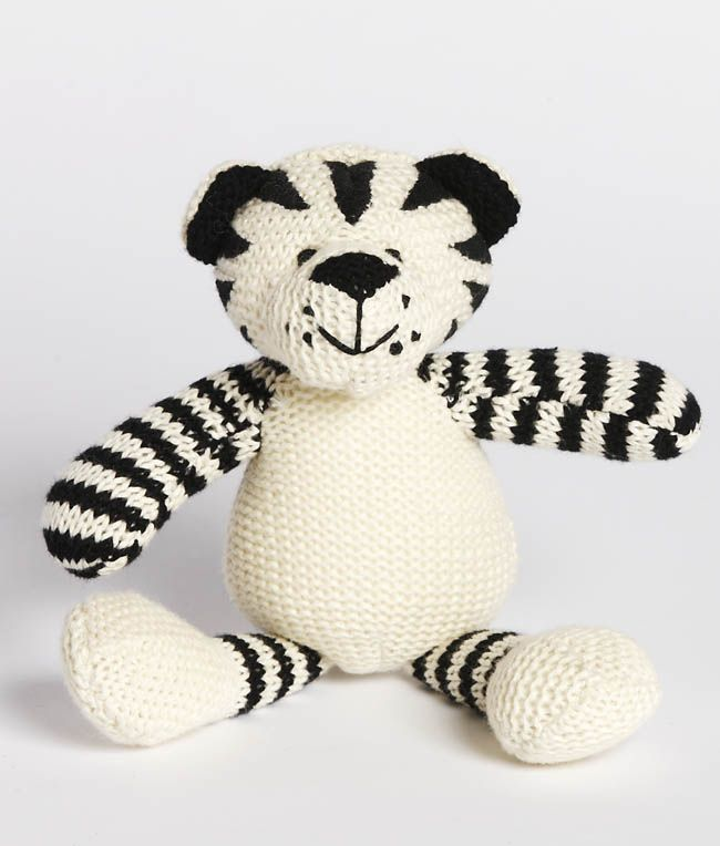 Tiger Baby Rattle