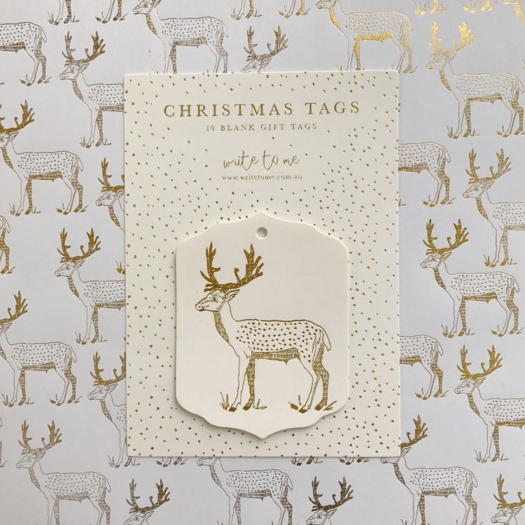 Merry Deer Tag Pack