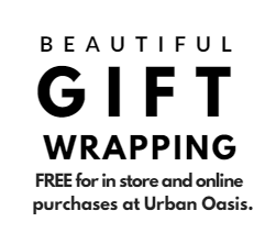 free gift wrapping at urban oassis