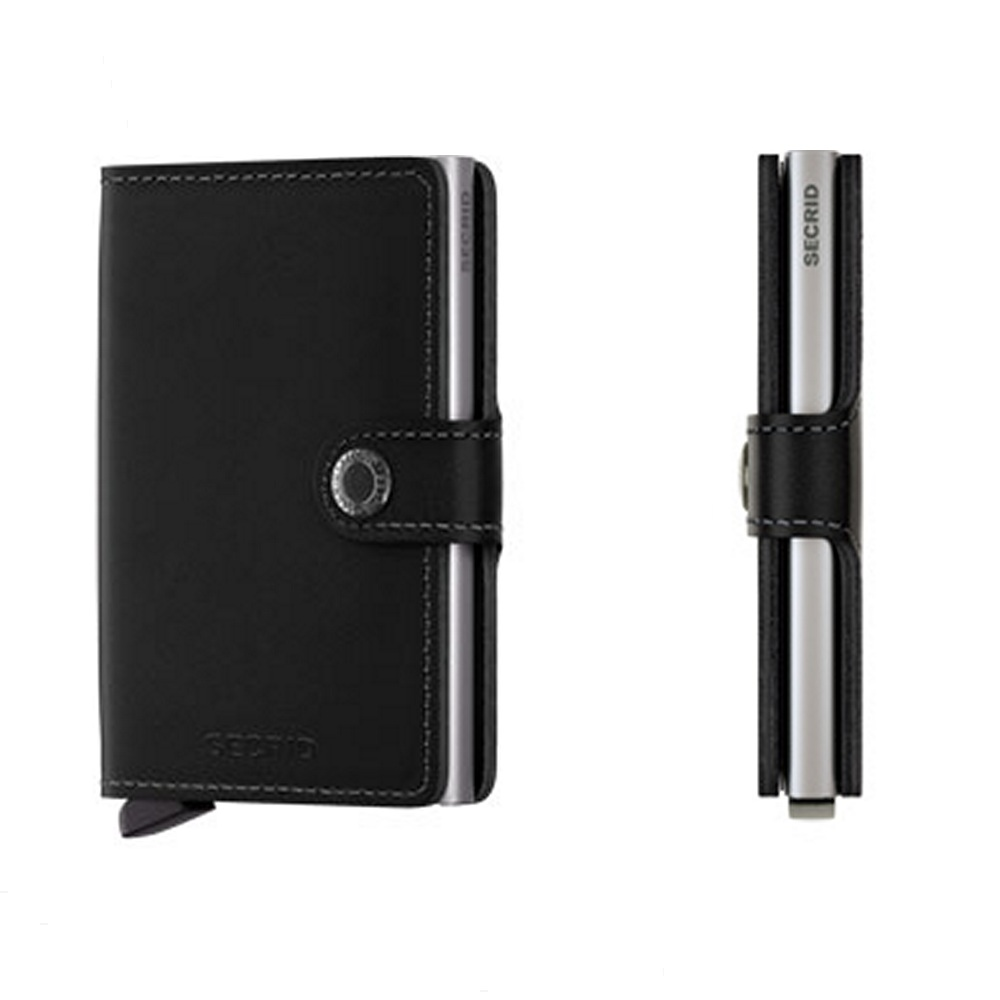 Secrid Wallets Miniwallet Leather Black