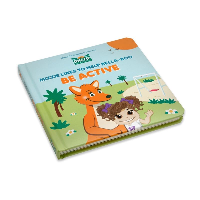 Mizzie Be Active Book