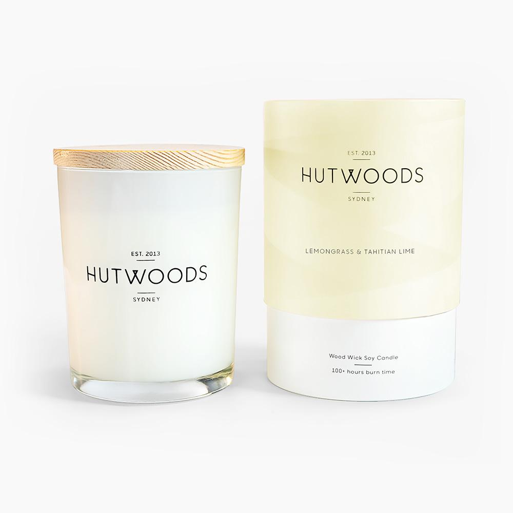 Lemongrass and Tahitian Lime Candle Large