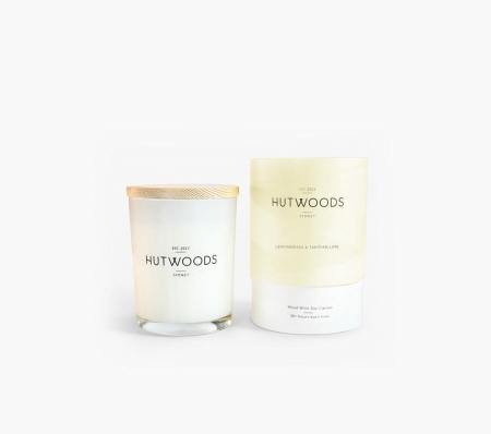 Lemongrass and Tahitian Lime Candle Small