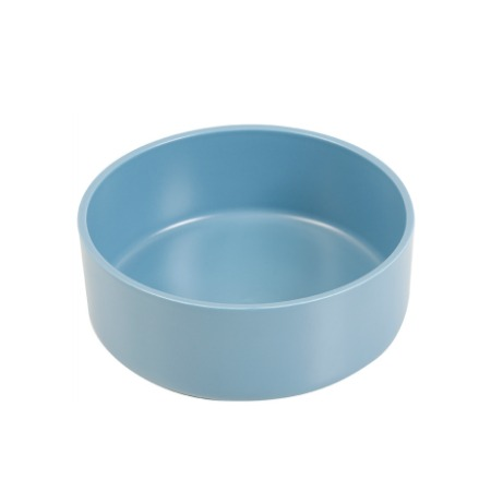 beautiful coral blue salad bowl