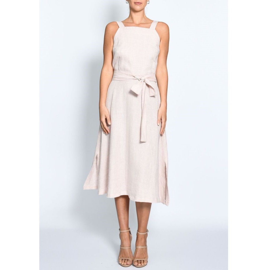 Mohave linen midi dress