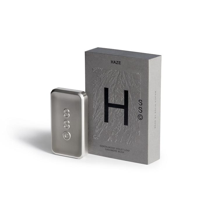 Solid State pocket size mens colognes - Haze - Citrus, Bergamot and Mountain Pine