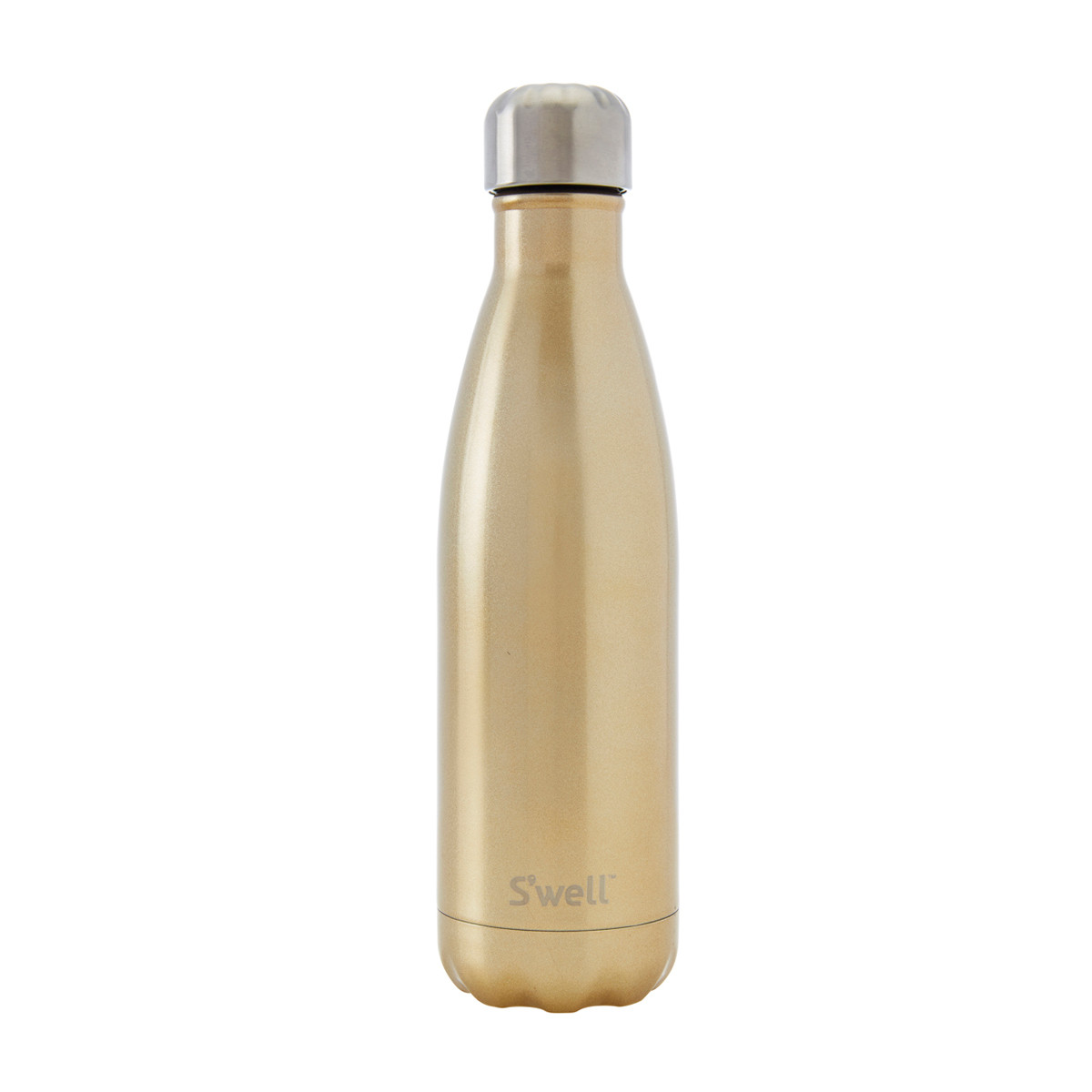 Glitter collection insulated bottle - sparkling champagne