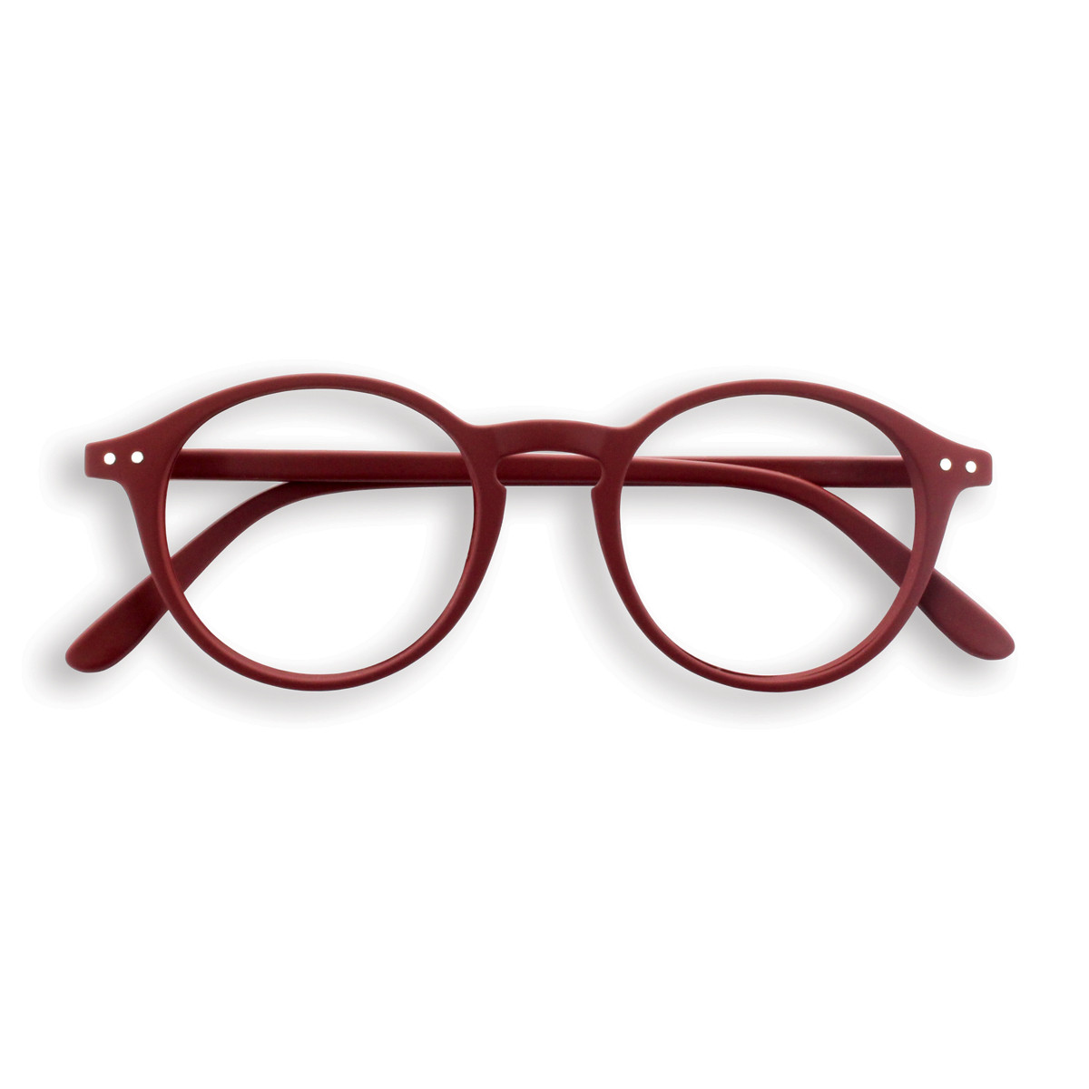 Izipizi new style reading glasses - deep red
