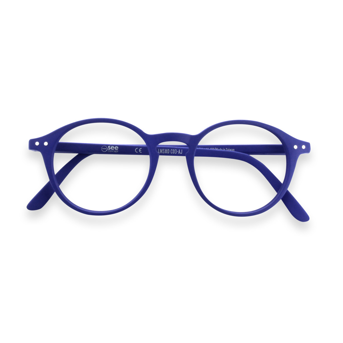 Izipizi new style reading glasses - navy blue