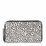 Leather Leopard Print Wallet