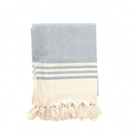 Organic cotton beach towel - Arctic