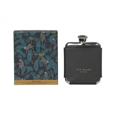 Ted Baker Hip Flask - Brogue Monkian