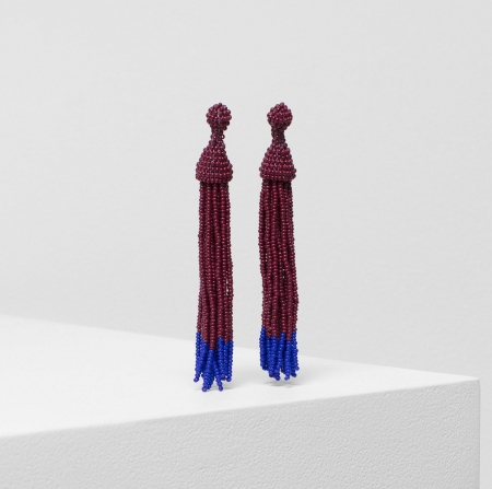 Blok Earring - Windsor and bright blue