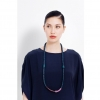 Model wearing Sandan full necklace