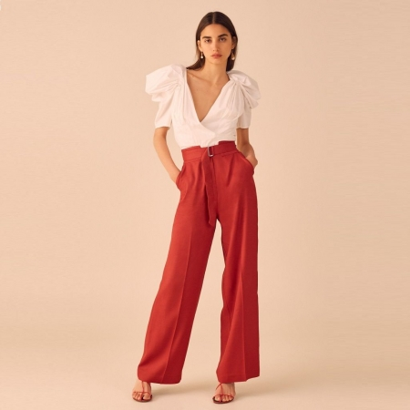 The light pant - Red