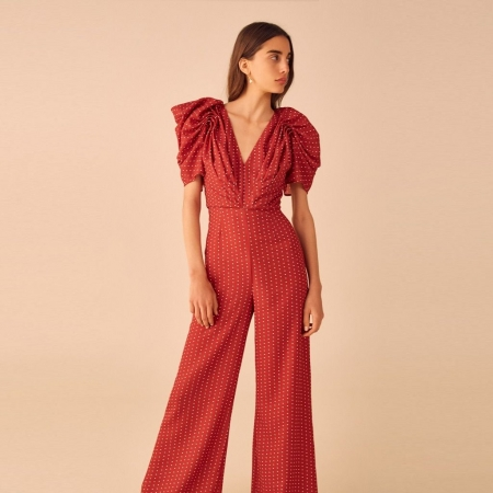 Vices jumpsuit - Red spot