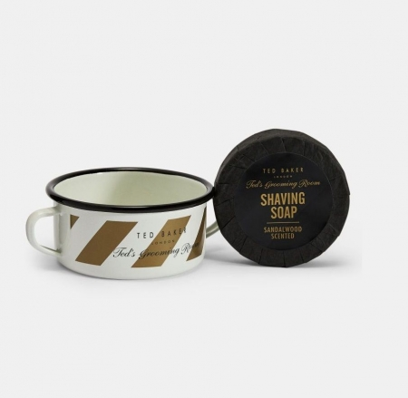 Ted Baker Shaving Soap and Bowl