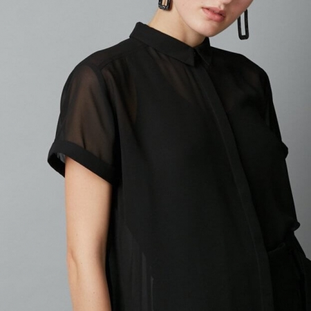 Jinto shirt - black front