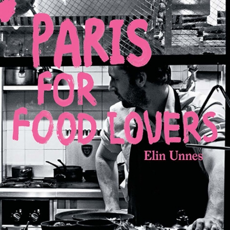 Paris for food lovers book cover