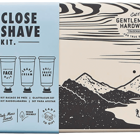 close shave kit box