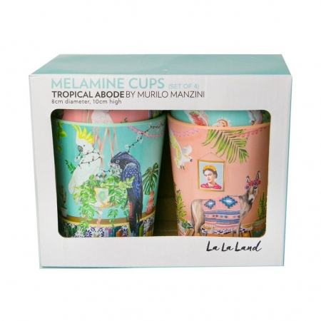 Cup Set Tropical Abode packing
