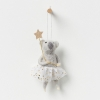 North Pole hanging koala girl with champagne star on the wall