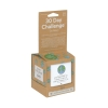 30 Day go green challenge activity box packing