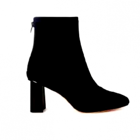 Tact stretch suede boot - black