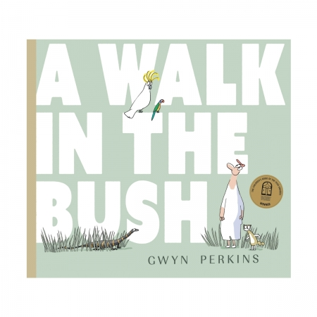 A walk In the bush by Gwyn Perkins