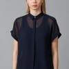 Jinto dress shirt - navy front side
