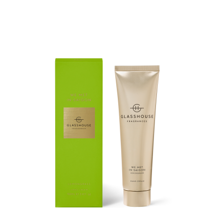 We Met in Saigon-100ml hand cream-Glasshouse Fragrances