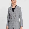 zion jacket camel check front