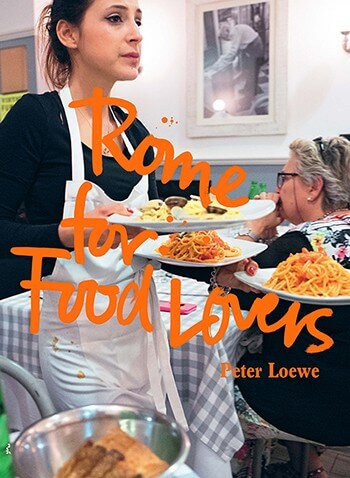 Rome for food lovers book cover
