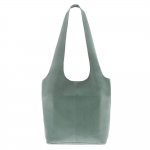 sorell soft leather bag in mint color