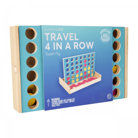 Travel 4 in a row super fly packaging