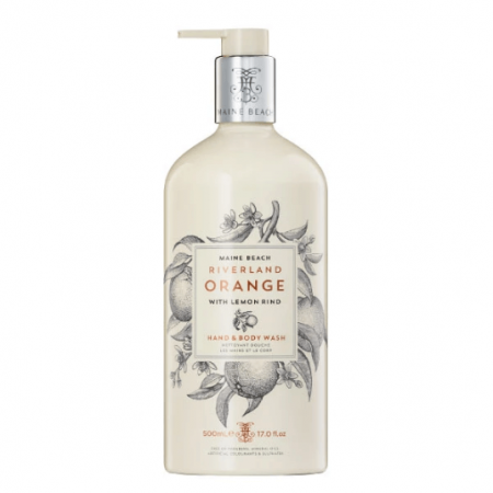 Riverland orange hand & body wash