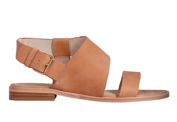 womens tan leather sandle